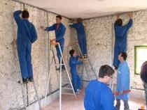 ремонт стен помещений Северск