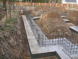 Строительство фундамента под ключ. Северские строители.