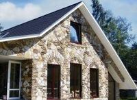 Монтаж фасадов, облицовка зданий кирпичом и камнем в Северске